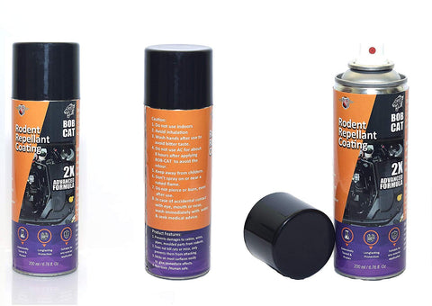 Shadow Innovation Bob CAT Rat Repellent Spray for Cars Highly Effective with Mask and Gloves