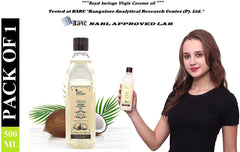 Royal Heritage Natural Cold Pressed Virgin Coconut Oil (500 ml)