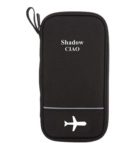 Shadow Securitronics  Minimalist New launch Black Passport Bag/Passport Organizer