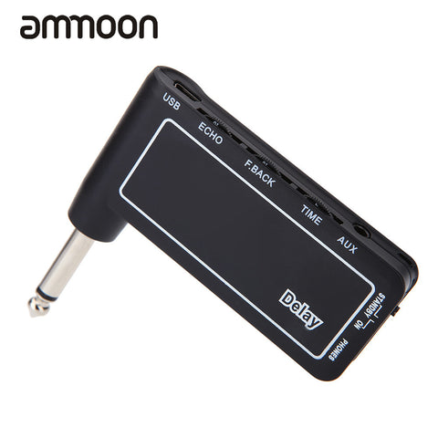 Brand New Mini Rechargeable Electric Guitar Plug Headphone Amp Am