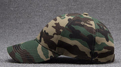 Wholesale 6pcs Classic Camo Baseball Caps for Spring Summer Men O