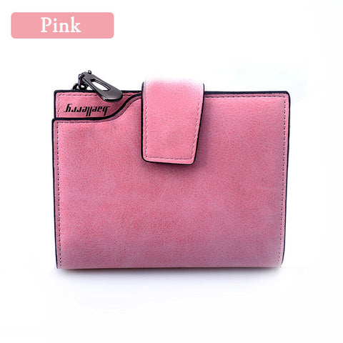 Wallet Women Vintage Fashion Top Quality Small Wallet Leather Pur
