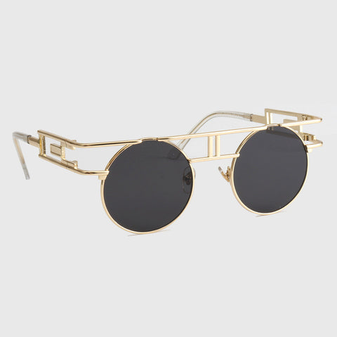 ROYAL GIRL Quality Metal Frame Steampunk Sunglasses Women Brand D