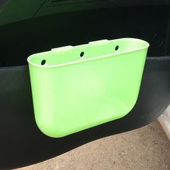 hanging car storage box car waste bin at back of seat storage bas