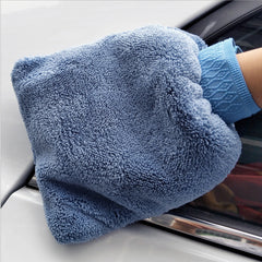 Car Washer Soft Cleaning Washing Gloves Water Absorption Car Acce