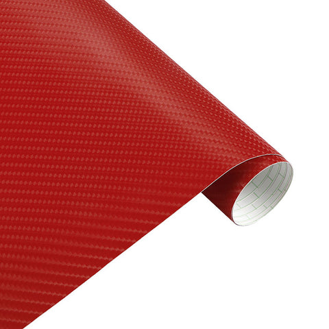 50*200cm 4D Vinyl Car Wrap Carbon Fiber Film 3M Sticker Waterproo