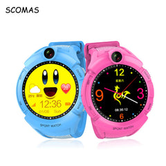 Smart GPS Tracking Children's Watches with Touch Screen SOS Phone