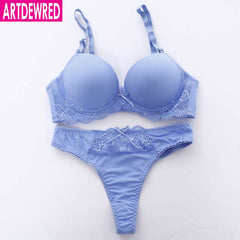 New 2017 Brand Sexy Seamless One Piece Intimates Bras & Brief Set