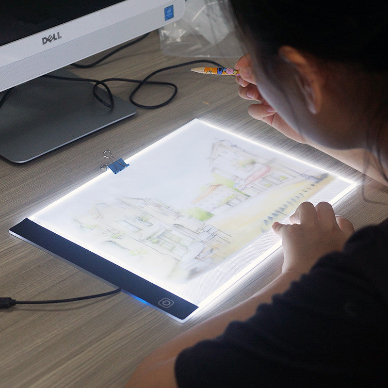 Led Lighted Drawing Board Ultra A4 Drawing Table Tablet Light Pad
