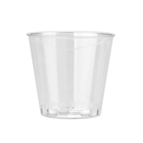 50PC/Set Modern Clear Plastic Disposable Shot Glasses