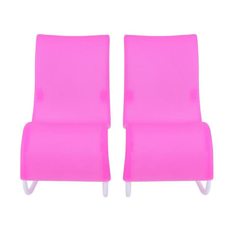 2pcs Rocking Beach Lounge Chair Livingroom Gardan Furniture for B