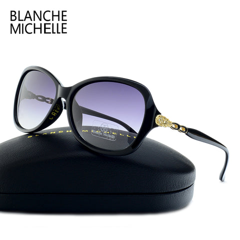 Blanche Michelle Luxury Butterfly Sunglasses Women Polarized UV40
