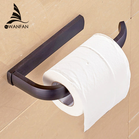 Paper Holder 5 Colors Solid Brass Wall Mount Toilet Paper Holder