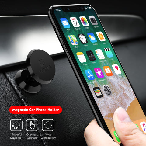 Car Holder 360 Degree Magnetic Car Phone Holder GPS Stand Air Vent Magnet Mount for iPhone 5s 7 6 8 X Soporte