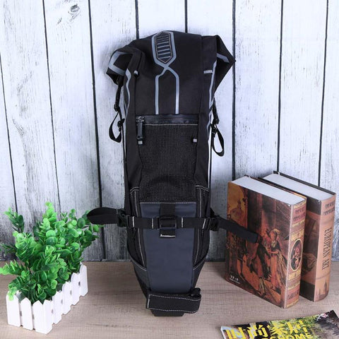 10L Bike Bag Bicycle Saddle Tail Seat Waterproof Storage Bags Cycling Rear Pack Painners Accessories 63*28*14cm Freeship