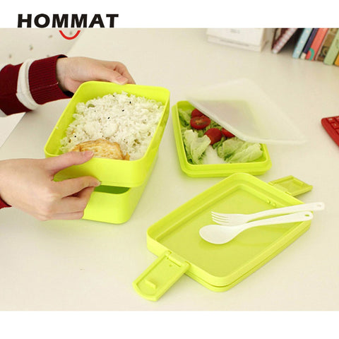 3 Layer Cute Bento Box Lunch Box Kids Food Containers Bentos with