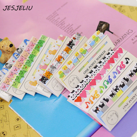 cute kawaii diy memo pad sticky Notepaper Post-it note cartoon an