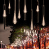 Image of 50CM 240LED Meteor Shower Rain Tube LED Christmas Light Wedding P