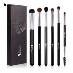 Makeup Brushes 6 PCS Eyeshadow Brush Blending Eyebrow Make Up Bru