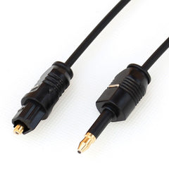 3.5mm Mini Toslink To Toslink Cable Digital Optical Audio connect