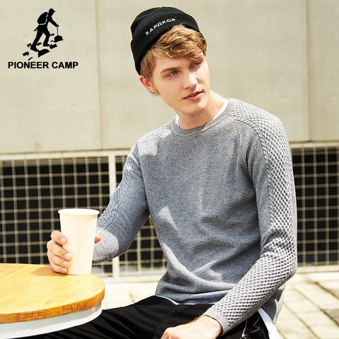 new arrival famous brand men sweater top quality fashion male pul