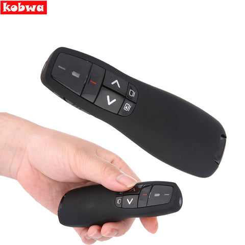 2.4GHz Wireless Presenter with IR Laser Pointers Pen USB RF Remot
