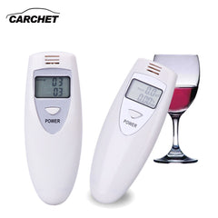 CARCHET Alcohol Tester Digitale Portable LCD Alcohol Tester Breat