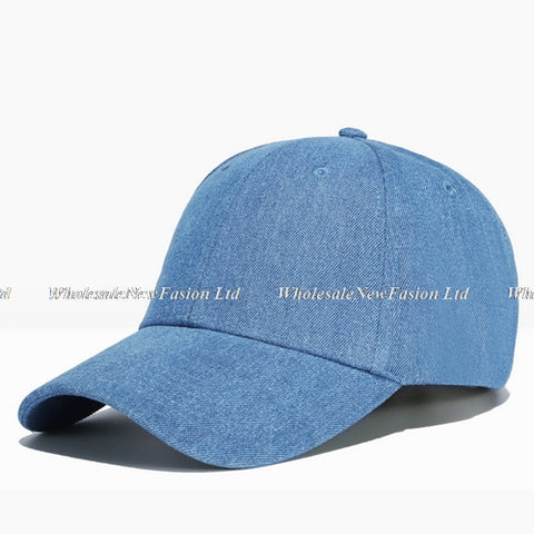 Wholesal 10pcs/lot Brand Blank Cotton Baseball Hat NEW Womens Whi
