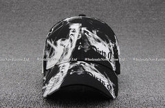 Wholesale 6pcs/lot NEW Printed Cotton Baseball Hat 2017 Womens Wh
