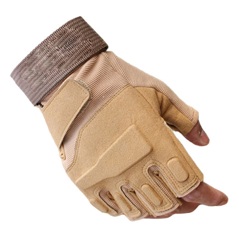 Blackhawk Hell Storm US Military Special Forces Tactical Army Gloves Slip Outdoor Men Fighting Fingerless Gloves