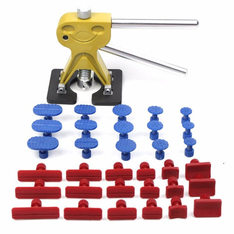 PDR Hand Tool Sets Dent Lifter Kit Glue Puller Paintless Dent Rep