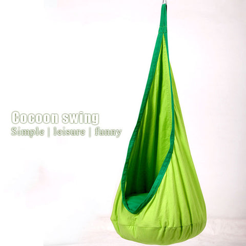 Colorful Children Hammock Garden Furniture Swing Chair Indoor Out