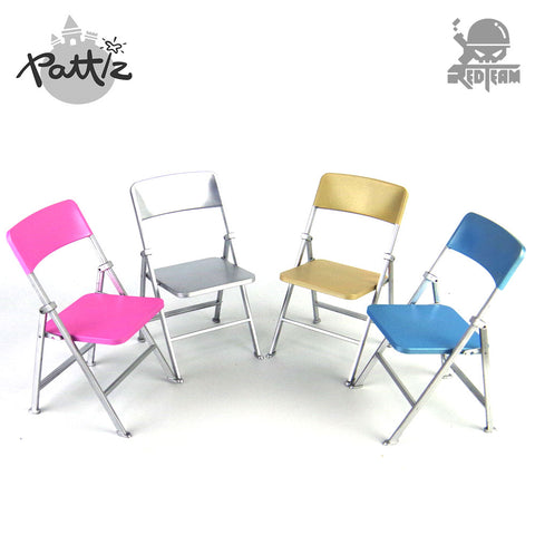 PATTIZ 1:6 Color Plastic Chair Models Diy Dolls Accessories Actio
