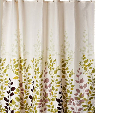 Waterproof Shower Curtain 12 Hooks For The Bathroom  High Quality Bath Bathing Sheer For Home Decoration