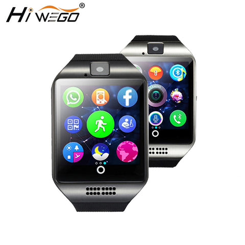 Smart Watch Men Q18 Passometer Smart watch with Touch Screen came