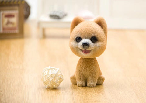Nodding Dog Car Shake Head Dog Dolls Dashboard Car Decoration Acc