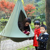 Image of Indoor Outdoor Children Hanging Chair Seat Cotton Nest With Infla