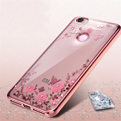 For Xiaomi Redmi Note 4X Case Luxury Soft Silicon TPU Case For Xiaomi Mi6 Mi A1 Case Xiaomi Redmi 4 4A 4 Pro Cases Redmi 4X 4 X