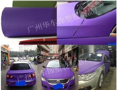 50*150cm DIY Car Sticker Matte Pearl Point Auto Exterior Carbon F