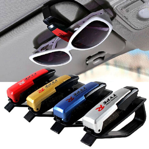 Random Color Holder for Glasses Universal Eyeglasses Holder Auto Sun Visor Clip for Sunglasses Car Accessories for ford focus 3