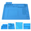 Image of 3 Size Heat Insulation Silicone Pad Desk Mat For Electrical Solde