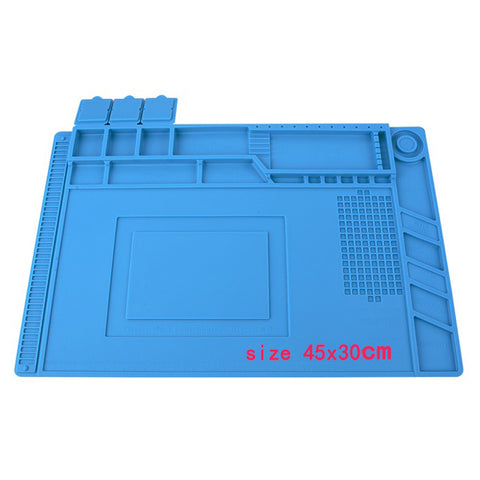 3 Size Heat Insulation Silicone Pad Desk Mat For Electrical Solde