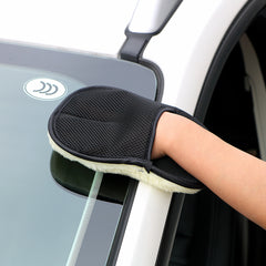 Car Washing Gloves Microfiber Cleaning Tools Car Care Soft Wool B