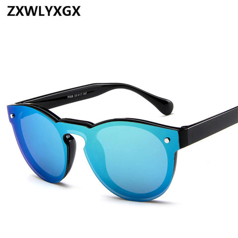 ZXWLYXGX 2018 Fashion Star Adult Mirror Goggle Rushed New Sunglas