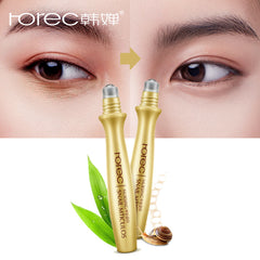 Eye Serum Instantly Ageless Anti-Wrinkle Snail Essence for Eyes Anti Puffiness Against Bags Hyaluronic Acid Solution Care
