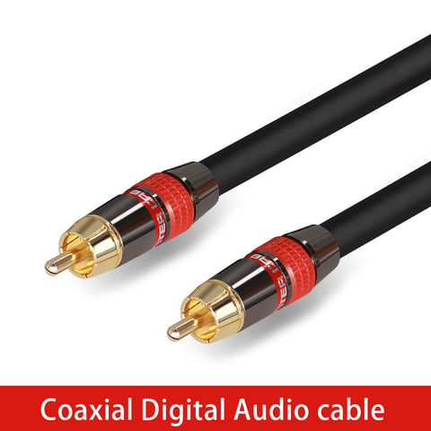 High Quality Stereo Digital Coaxial Audio Video RCA Cable speaker