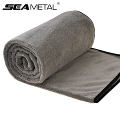 Microfiber Car Wash Towel Cloth Washing 100cmx40cm Thick Cleaning