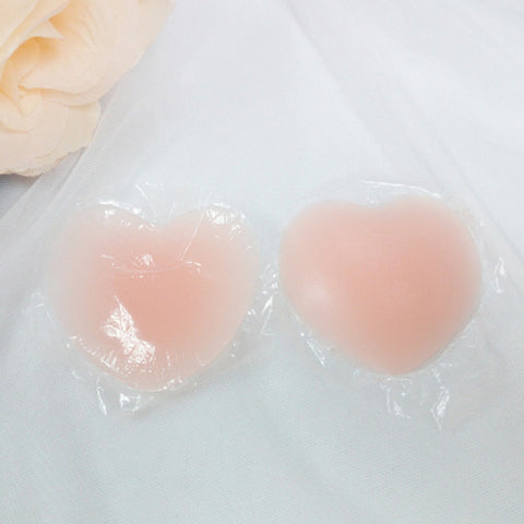 Women Reusable Invisible Self Adhesive Silicone Breast Chest Stic