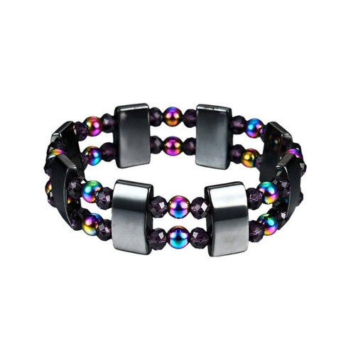 Black Stone Magnetic Therapy Bracelet Health Care Magnetic  For M
