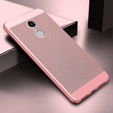Heat dissipation Hard Back PC Case For Xiaomi Redmi Note 4 4X Pro 3S Note 3 4A 5A 5 Plus Cover Mi A1 Mi5 Mi6 Mi5X Mi5S